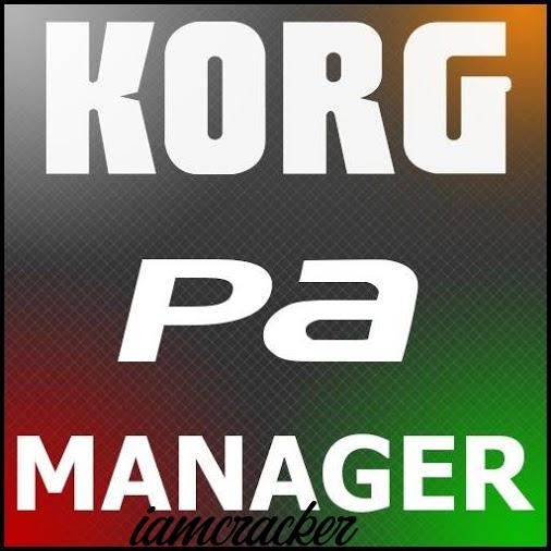 KORG PA Manager 3.2.5710 Crack Full Activation Code Generator
