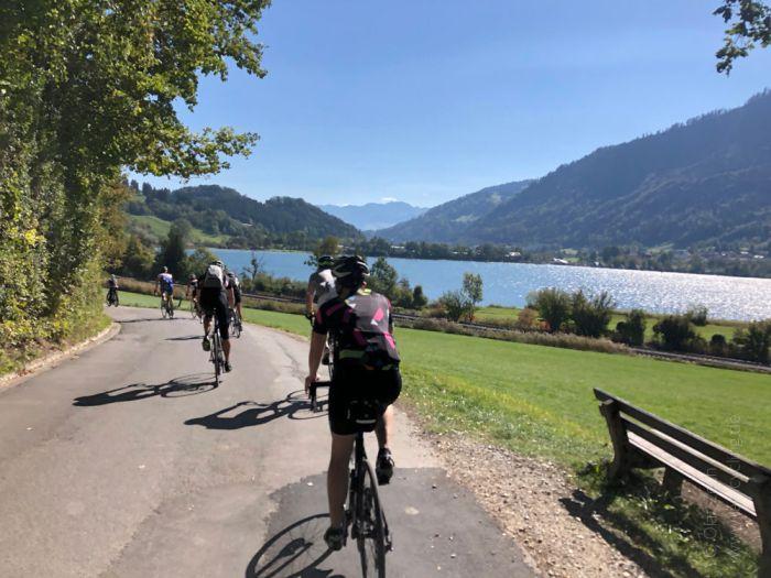 Rennrad Saisonfinale Bodensee: Am Großen Alpsee