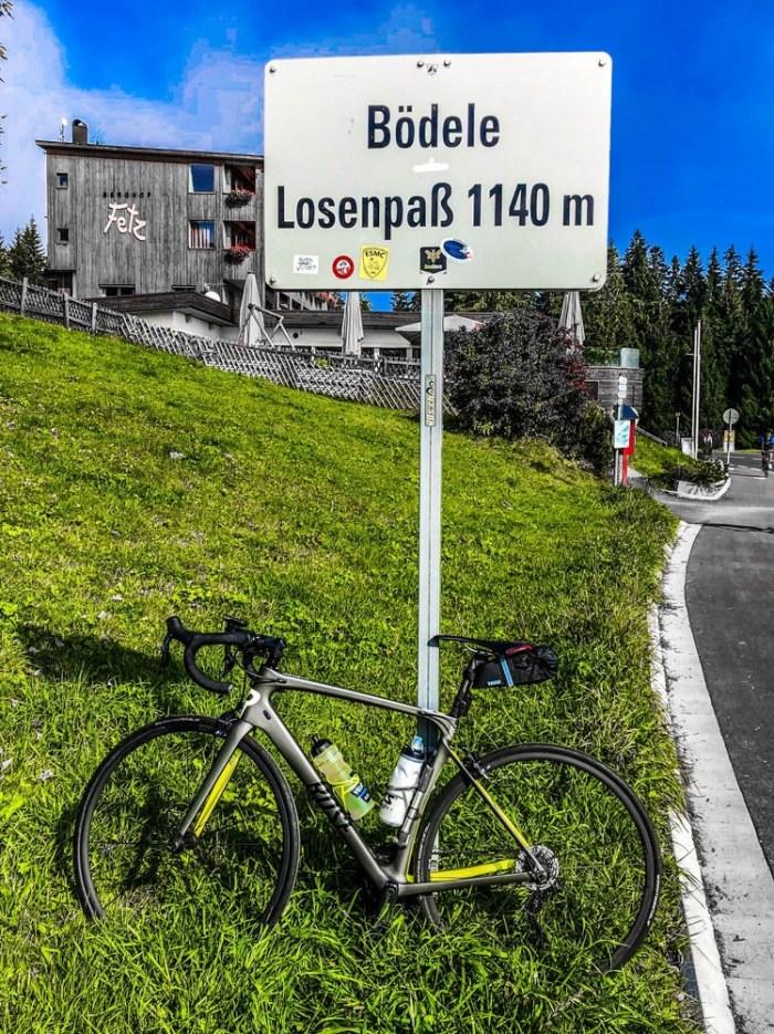Rennrad Saisonfinale Bodensee: Am Losenpaß