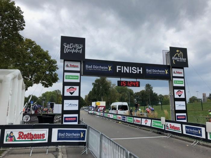 RiderMan in Bad Dürrheim: Ziellinie