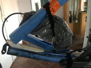 Die in Luftpolsterfolie gepackte Schaltung