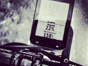 Mein Garmin Edge 820 GPS-Fahrradcomputer