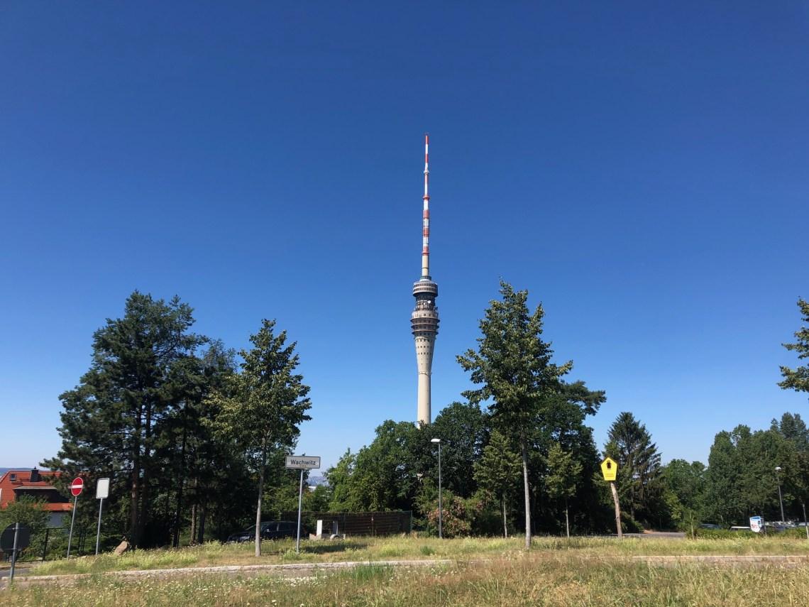 Rennradtour nach Moritzburg, Dorf Wehlen, Fernsehturm - iamcycling