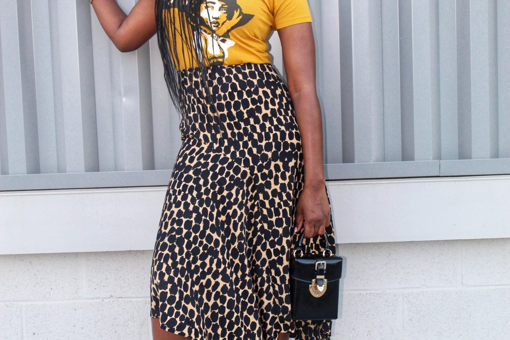 This Leopard Print Skirt Is Super Versatile
