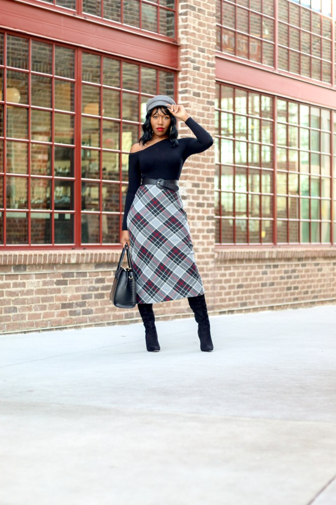 Chic Wool Pencil Skirt