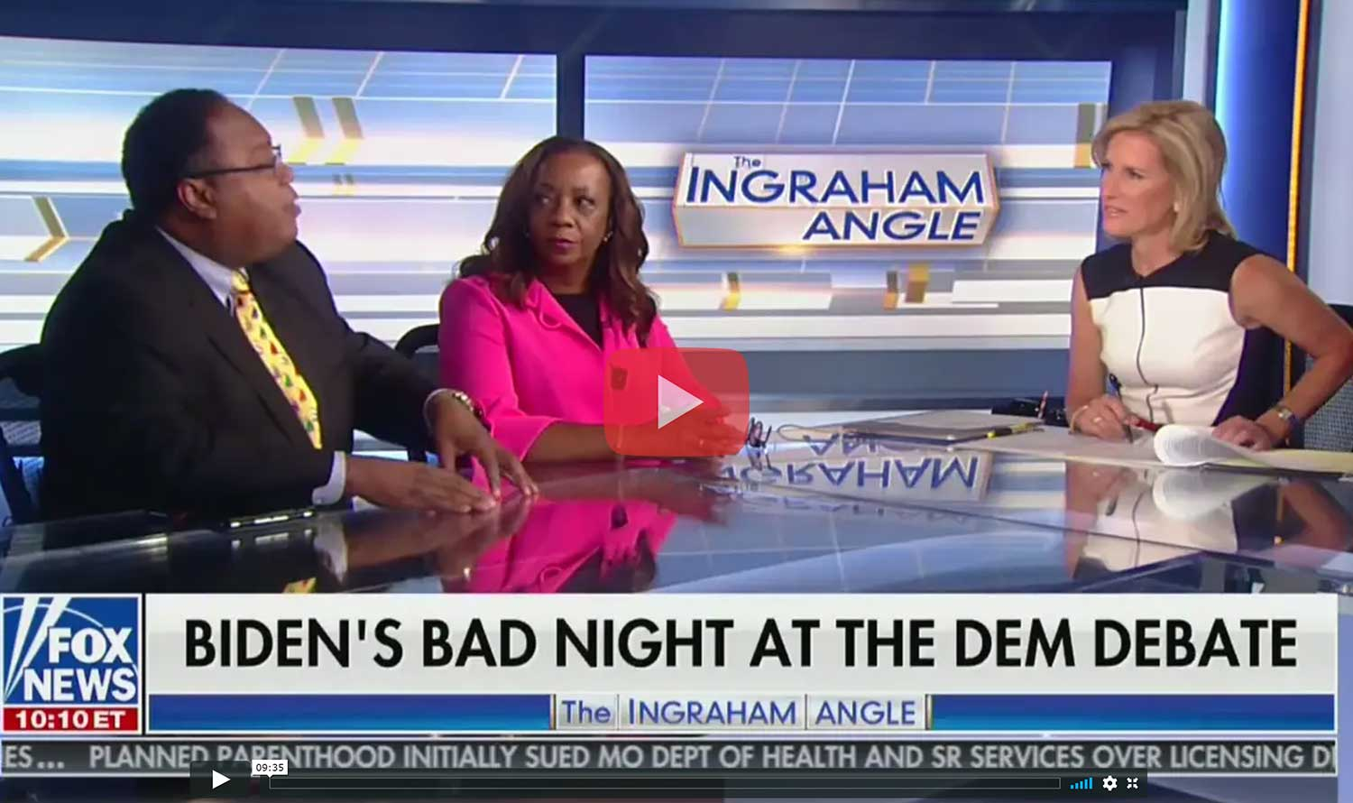 Fox News Laura Ingraham 2020 Democratic Presidential Debates