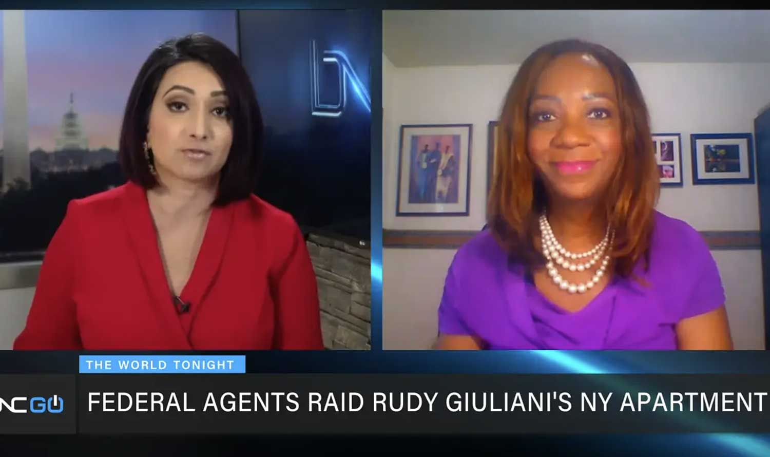 Black News Channel: Federal Agents Raid Rudy Guiliani's Apartment