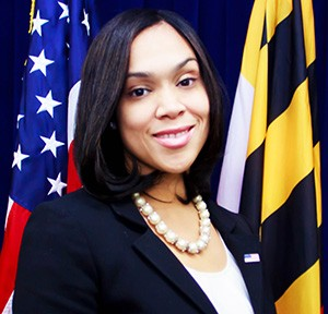 Marilyn Mosby- Official Photo as State's Attorney