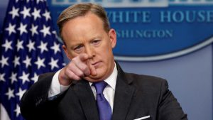 Frmr Press Secretary Sean Spicer