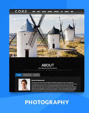 Core - OnePage WordPress - 4