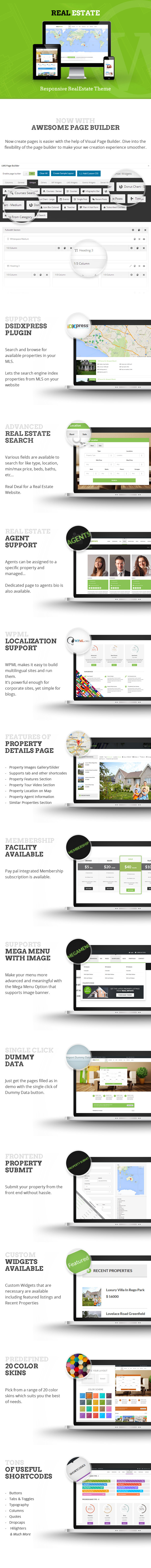 Real Estate - Responsive Real Estate Theme - 4