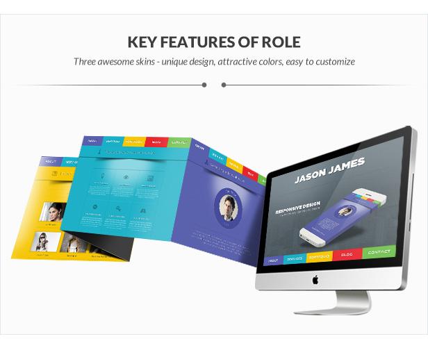 Role - OnePage Portfolio - 1