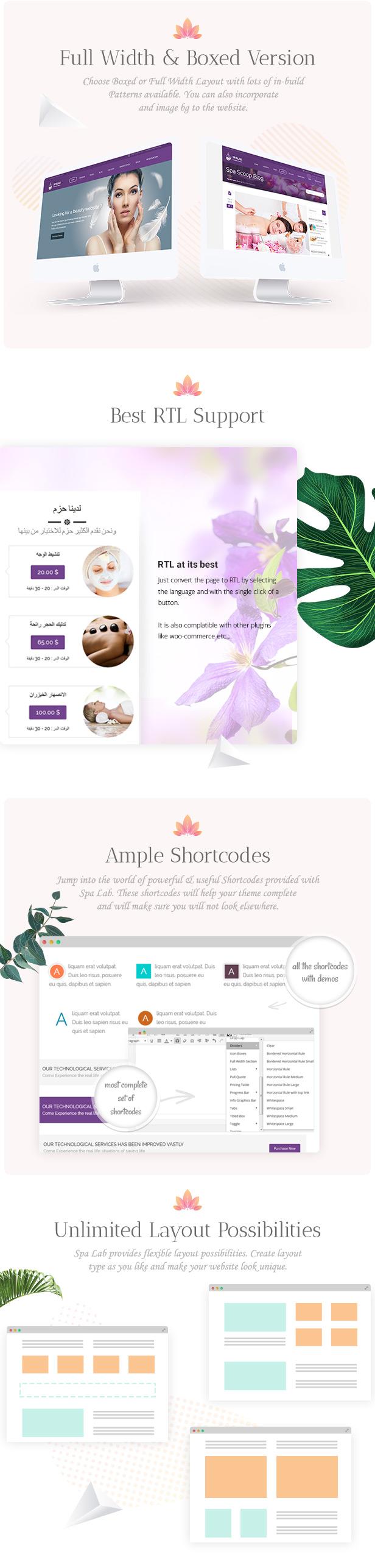 Spa Lab   Beauty Salon, Wellness WordPress Theme - 7