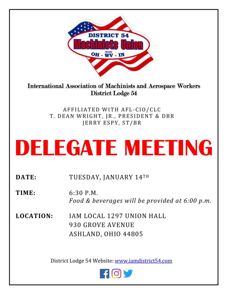 January 2020 Delegate Meeting Flyer-1