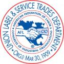 AFL-CIO Union Label - Shop Union
