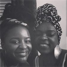 My bestfriend Richelle and I.
