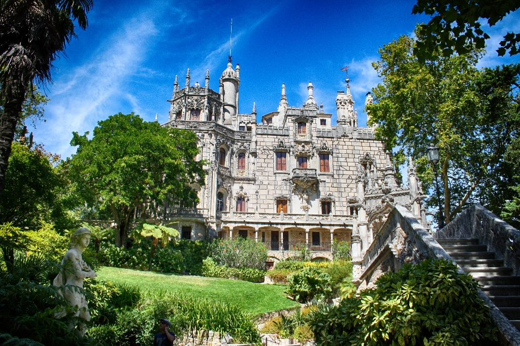 Sintra Inverted Towers, Amazing Portugal - I AM Family