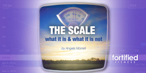 The Scale… what it is and what it is not