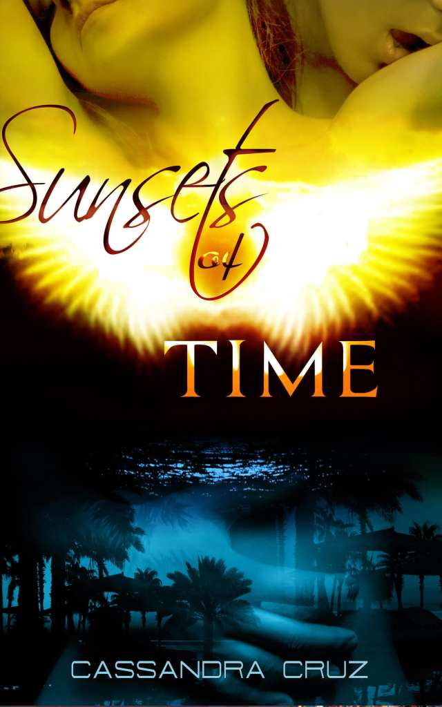 Sunsets of time book cover design Iamgonegirldesigns