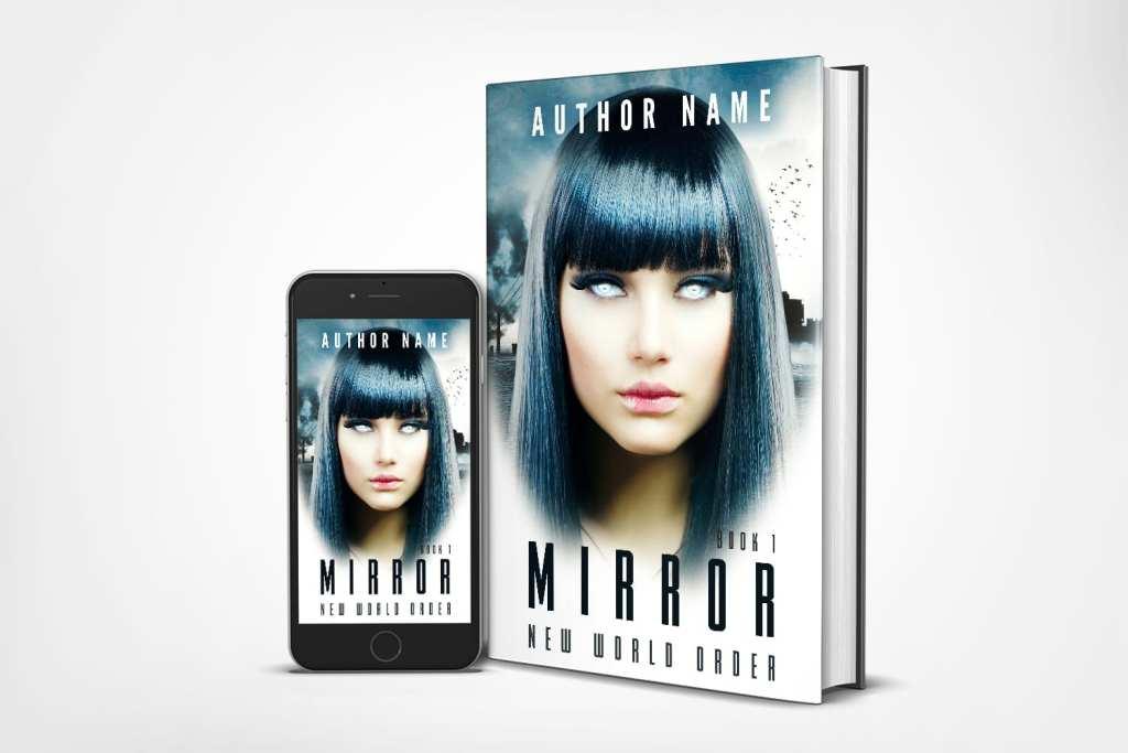 scifi dystopia professional premade book cover design Iamgonegirldesigns premade