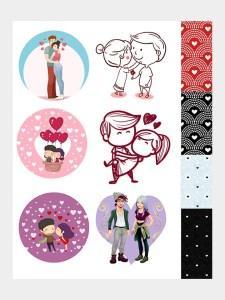love cute stickers store