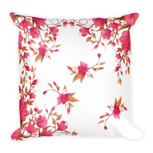 Soft and Extra Comfy Floral Pillow