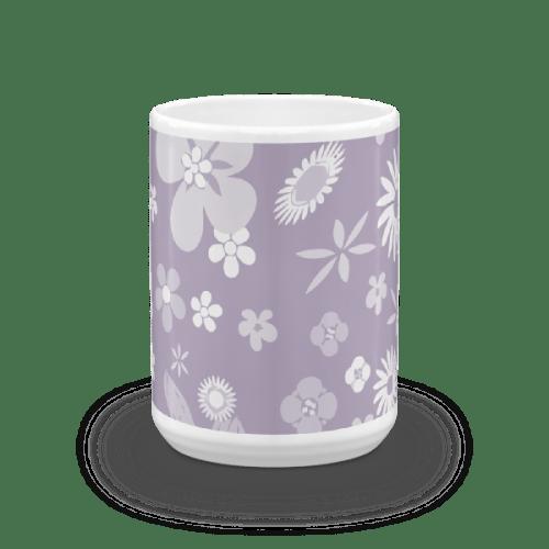 Floral Pale Purple Mug