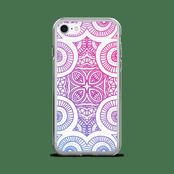 Abstract Gradient Mandala iPhone 5/6/7/8/X Case