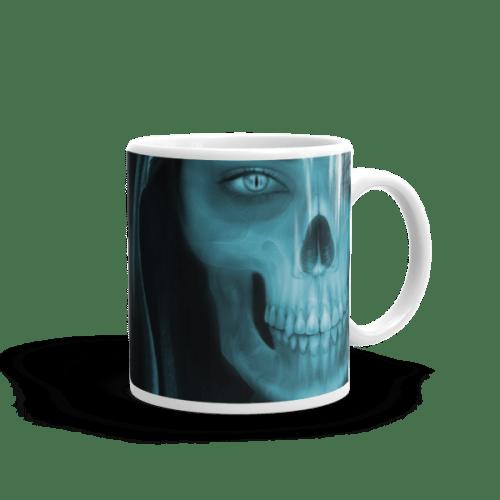 Skull Face X-ray Mug