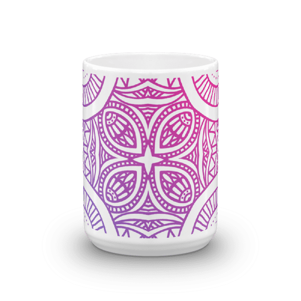 Abstract Gradient Mandela Mug