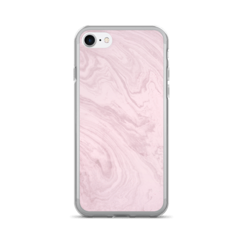 Marble Texture Pink Swirl iPhone 7/7 Plus Case