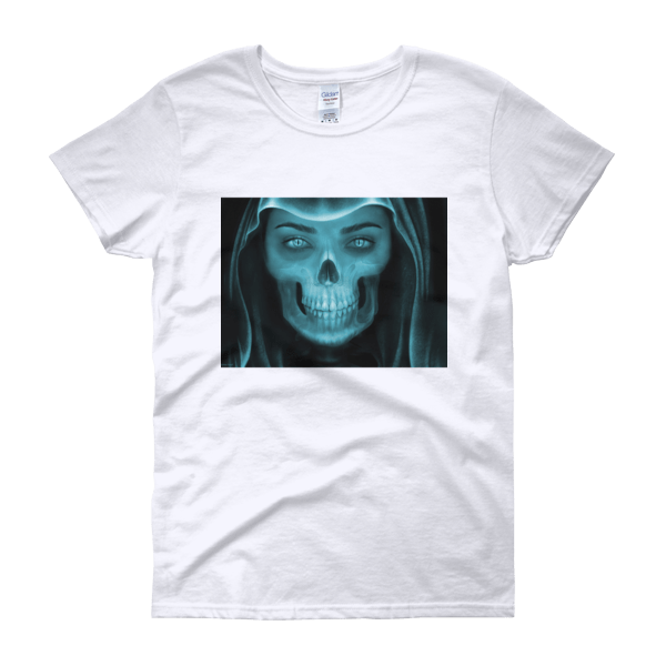 Skull Face X-ray Women's t-shirt