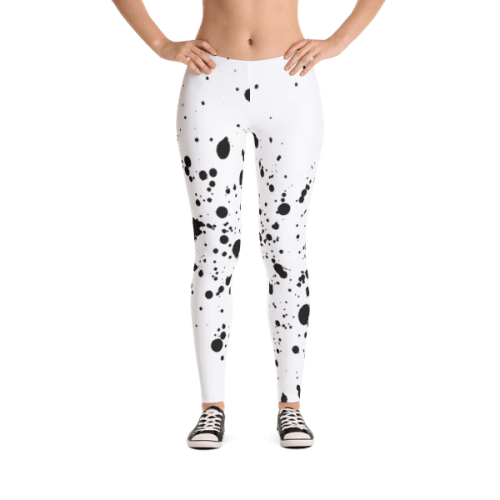 Ink Splatter Grunge Leggings