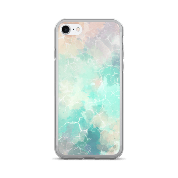 Marble Texture Multi-Color Hues iPhone 7/7 Plus Case