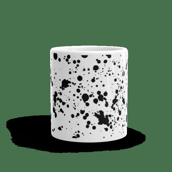 Ink Splatter Grunge Mug