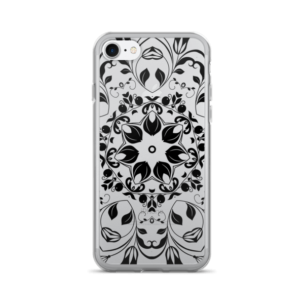 Black Ornamental iPhone 7 Case