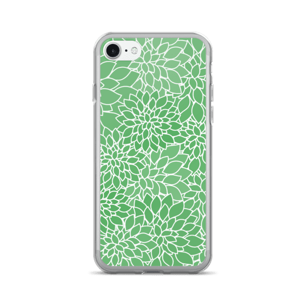 Abstract Leafy Green iPhone 7 Case