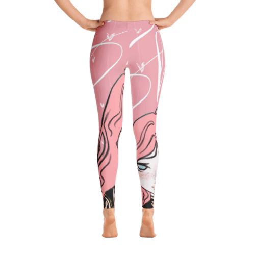 Shy Girl Pink Leggings