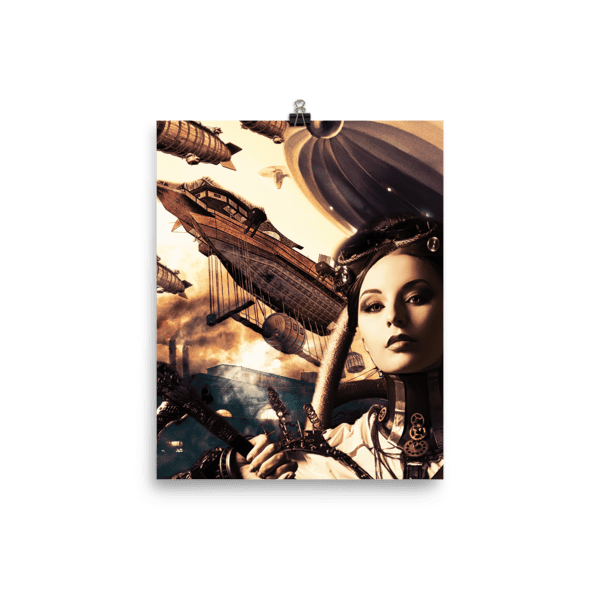 Steampunk Misfits: Eve Poster
