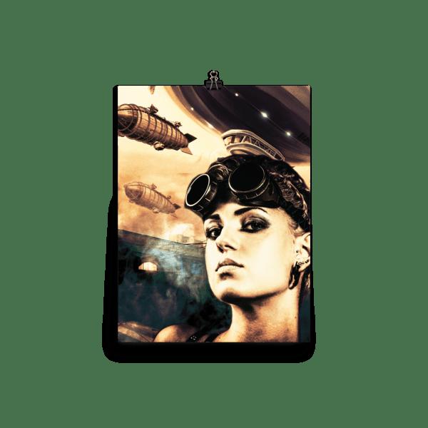 Steampunk Misfits: Laura Wall Art Print