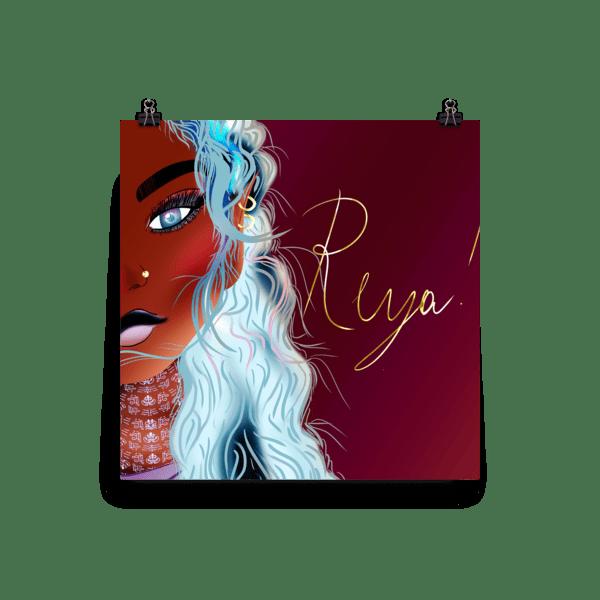 Reya Elvin Girls Fantasy Poster