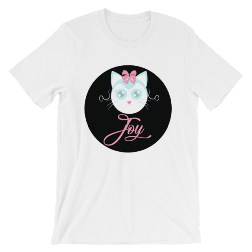 Joyful Cat Unisex T-Shirt