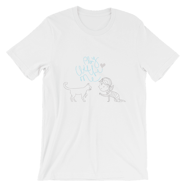 Play With Me Cat Lovers Unisex T-Shirt