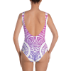 Gradient Mandala One-Piece Swimsuit