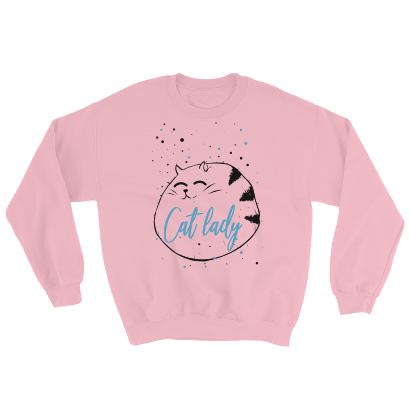 Cat Lady Sweater - Cat Lover Gift