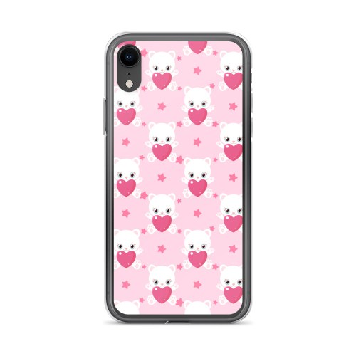 Valentine kittens iPhone Case