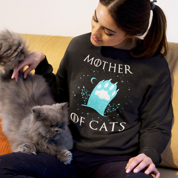 Mother of Cats Sweater, mother of cats winter shirt, cat sweater, cat shirt, funny cat sweater, chirstmas cat sweater