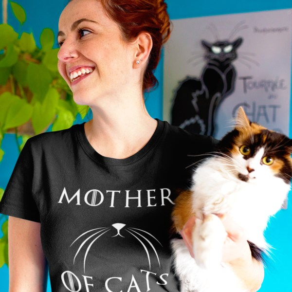 Mother of Cats Shirt for women