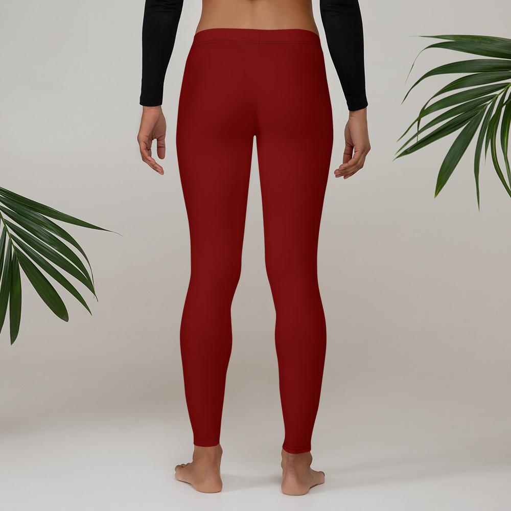 Red Wine Womens Leggings