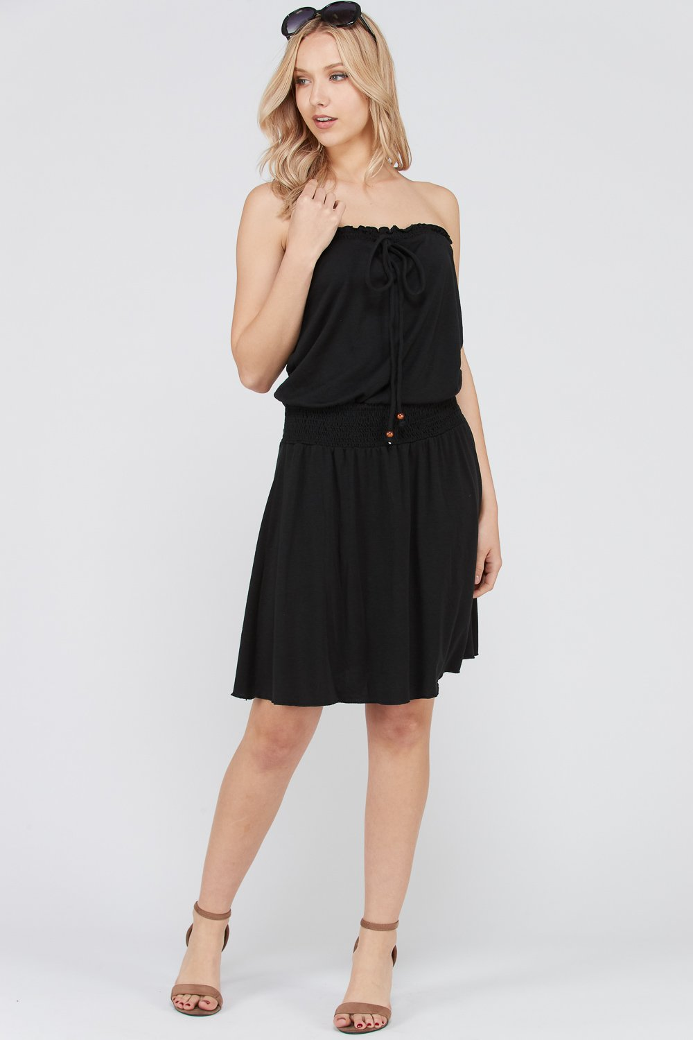 Shameless Strapless Black Dress